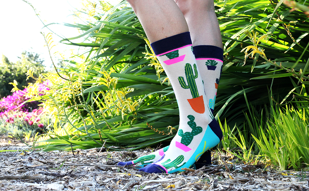 Enliven Your Look with Spring Socks!