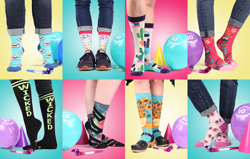 The Sock Drawer Marks a Decade of Success