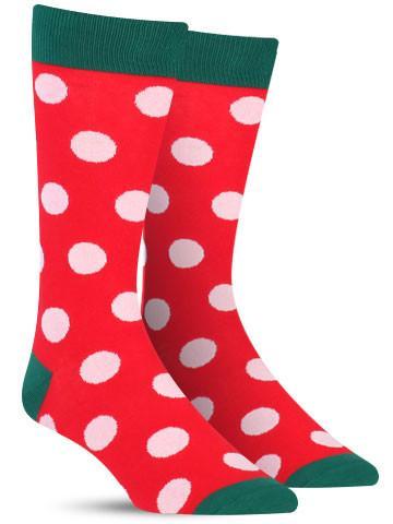 holiday dot christmas socks - Christmas Socks For Men