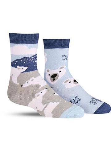 Polar Bear Socks | Kids'