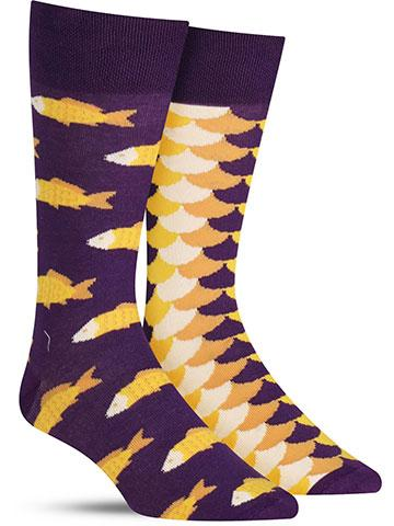 Fish and Scales Socks | Men's