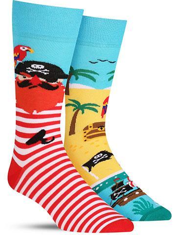 Pirate Island Socks | Men's