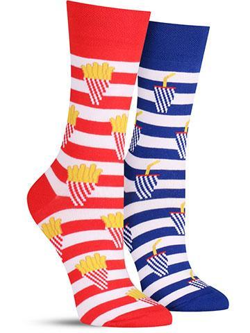 Fries and Soda Socks | Women's