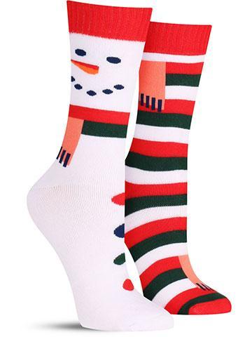 Warm Snowman Socks | Women's