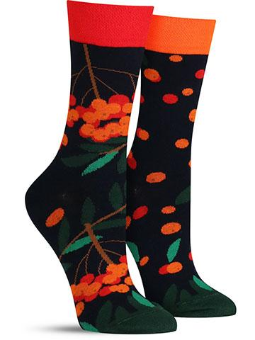 Rowan Berries Socks | Women's