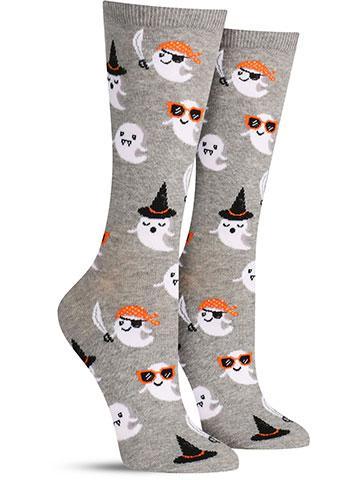 Cute Halloween Ghost Socks | Women's
