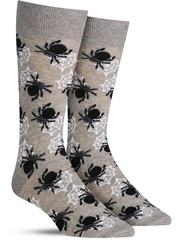 Halloween Spiders Socks | Men's