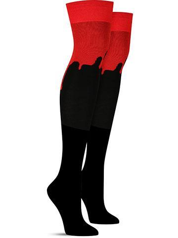 Halloween Bloody Over the Knee Socks | Women's