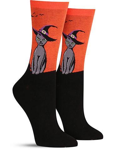 Black Cat Socks | Women's