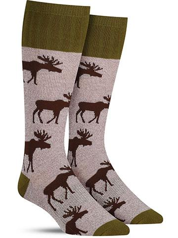 Outlands Moose Socks | Men's