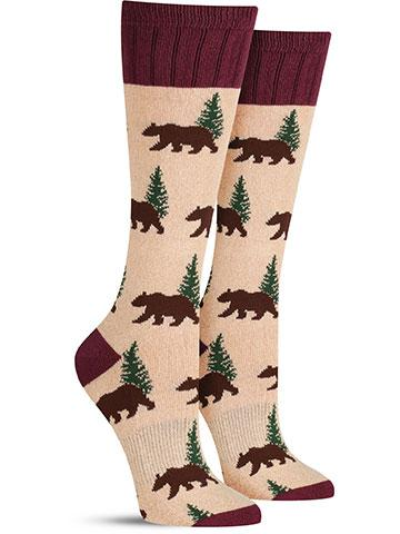 Outlands Bear Socks | Women's