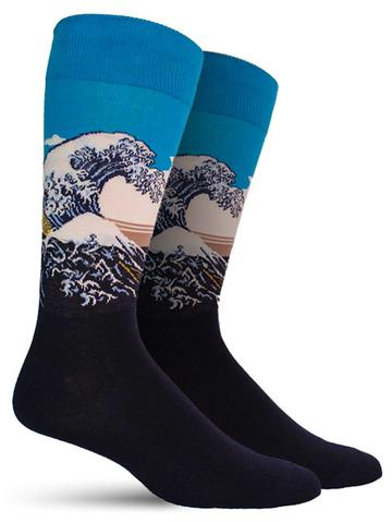 Great Wave Socks| Men's