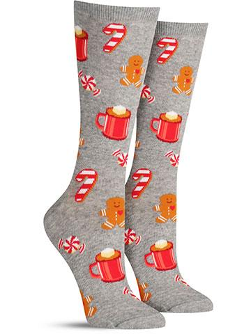 Hot Chocolate and Gingerbread Socks | Women's