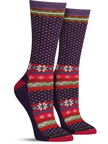 Cozy Cabin Wool Socks | Women's