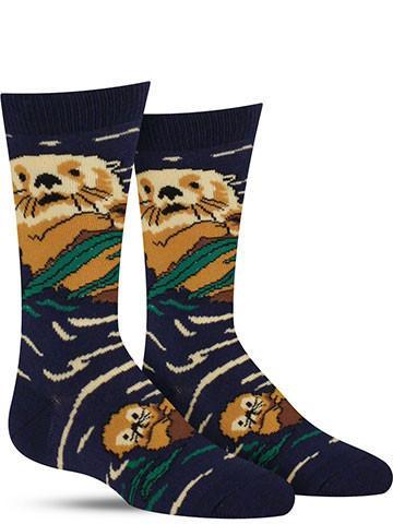 Otter in Water Socks | Kids'