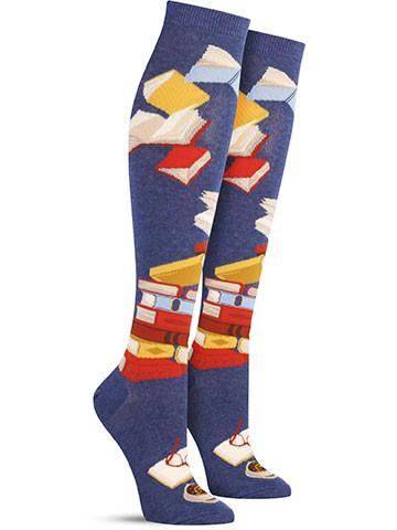Bibliophile Knee High Socks