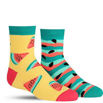 Watermelon Splash Socks