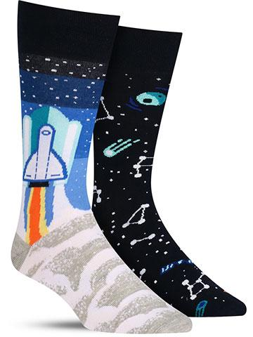 Space Trip Socks