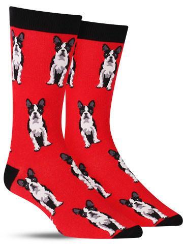 Boston Terrier Socks | Men's