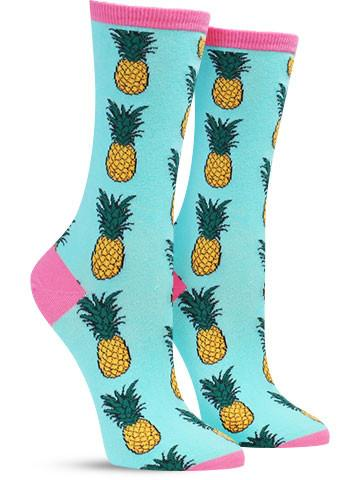 Pineapple Socks | Women's