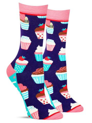 Hey Cupcake Socks | Women's
