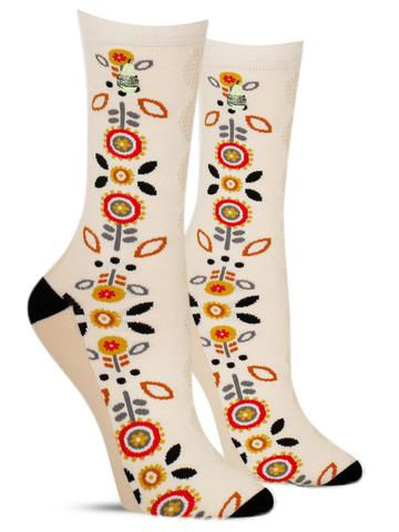 Hygge Floral Socks | Women's