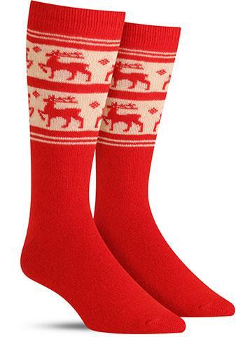 Rudolph Cashmere Socks | Men's