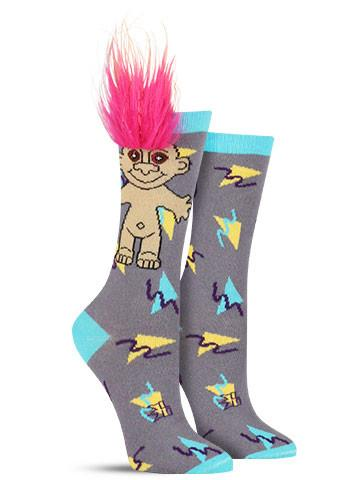 Electric Youth Troll Socks