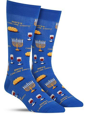 Happy Challah Days Socks | Men's
