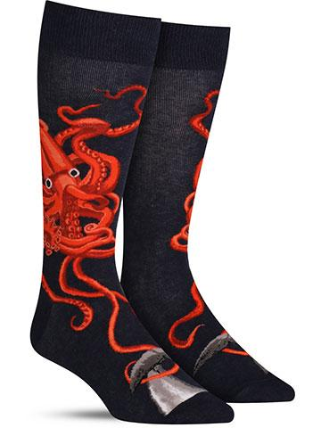 Squid and Whale Socks | Men's