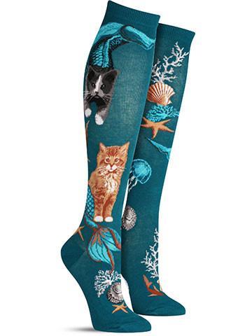 Purrmaids Knee High Socks | Women's