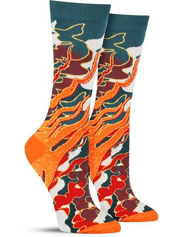 Four Elements: Fire Socks