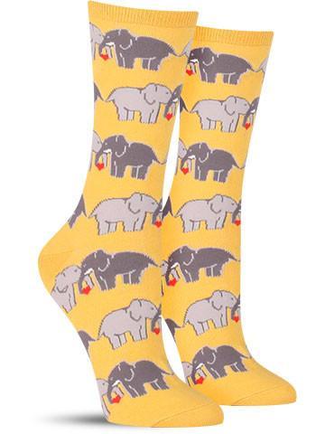Elephant Love Socks | Women's