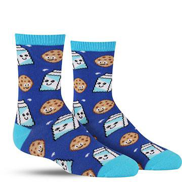 Cookies and Milk Socks