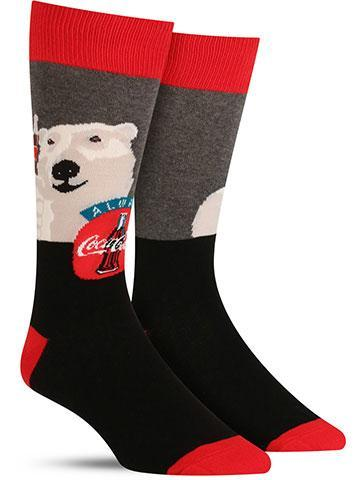 Men's Cheers Coca-Cola Socks