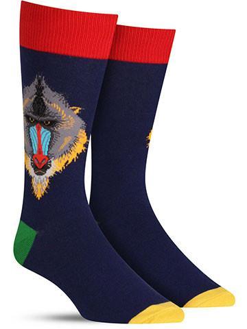 Mind Your Mandrills Socks | Men's