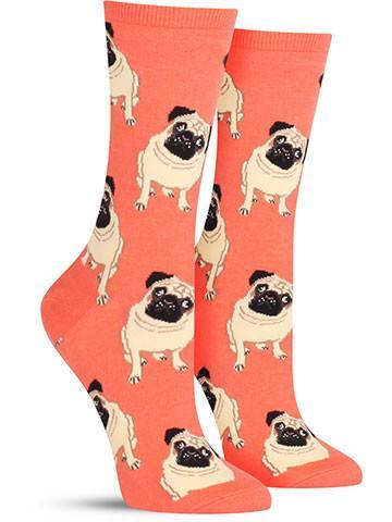 Pug Socks | Women's