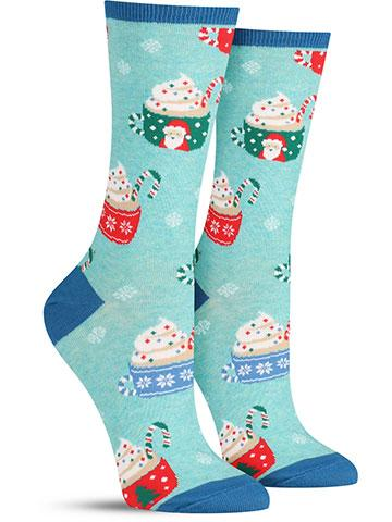 Cocoa Christmas Socks | Women's