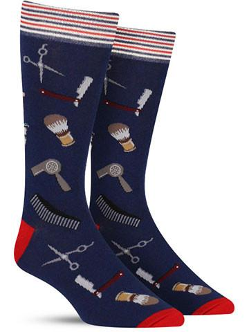 Barber Shop Socks