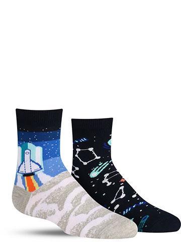 Space Trip Socks