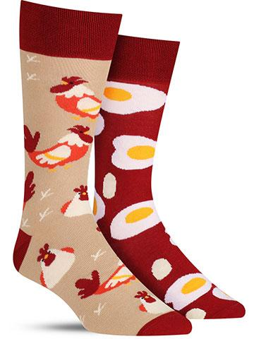 Egg and Chicken Socks