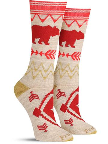 Bear Path Wool Socks