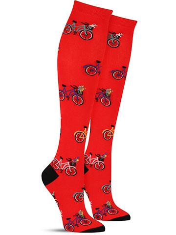 Tour de Neighborhood Knee High Socks