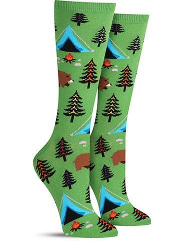 Bear Tent Socks