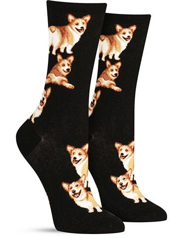 Corgi Butt Strut Socks