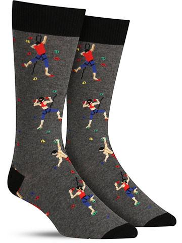 Climbing People Socks