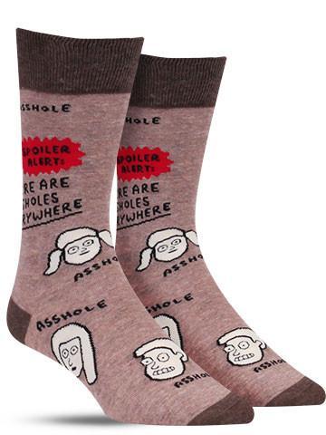 Assholes Everywhere Socks