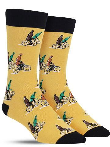 Beers on Bikes Socks