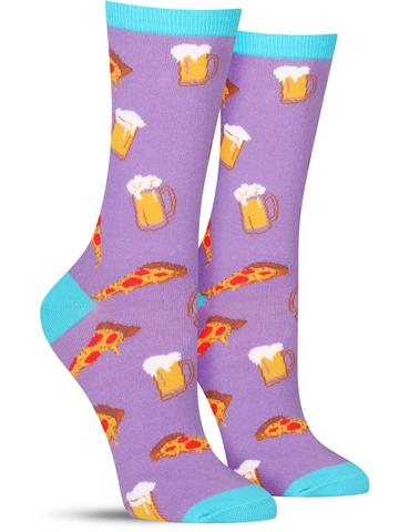 Pizza & Beer Socks