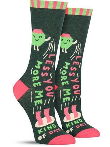 Less You More Me Socks